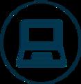 Icon Laptop - Softwarelösungen von Baron Tech